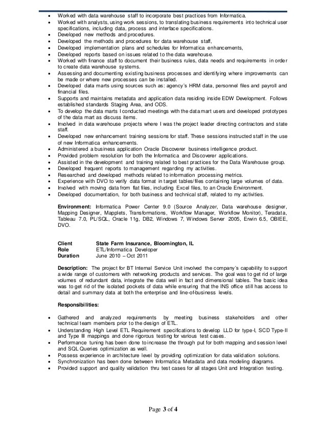 ideas of informatica developer cover letter with lead