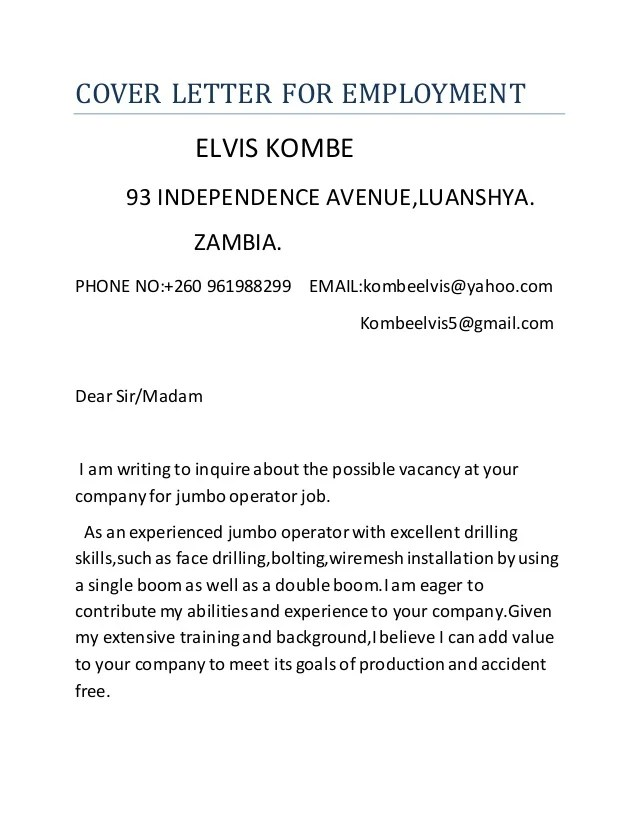 mock cover letter - Onwebioinnovate