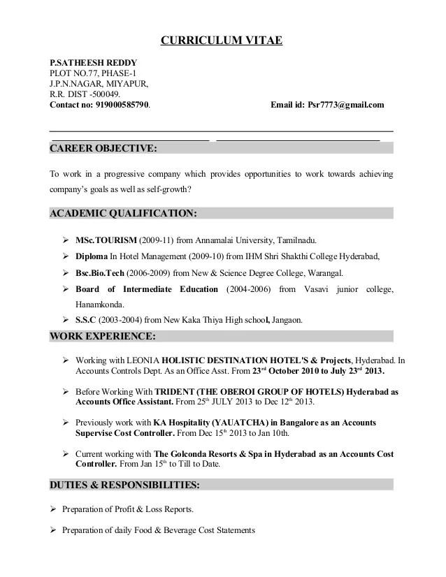 cost resume writer