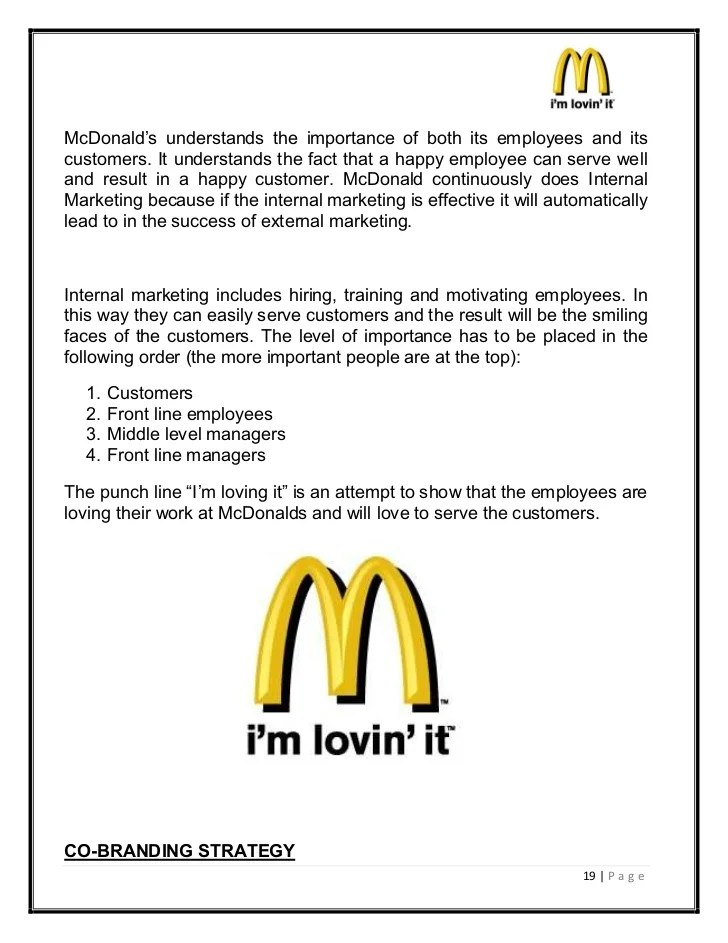 mcdonalds job duties - Goalgoodwinmetals