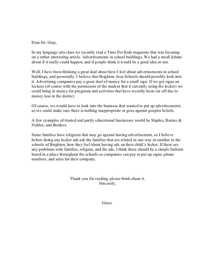 how to write persuasive letter - Ibovjonathandedecker