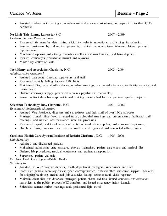 title loan resume