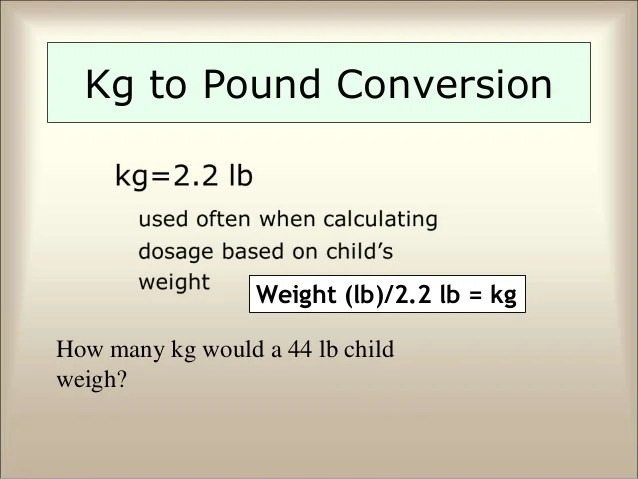 Kg To Lbs Chart Template Colbro