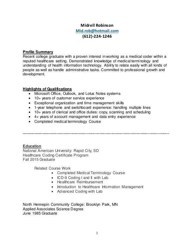 medical coding resume - Josemulinohouse - sample medical power of attorney form