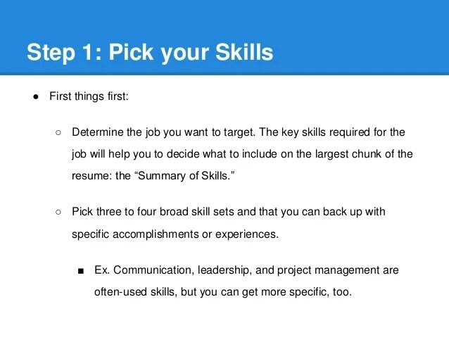 skills to put on a job resumes - Romeolandinez - skill to put on resume