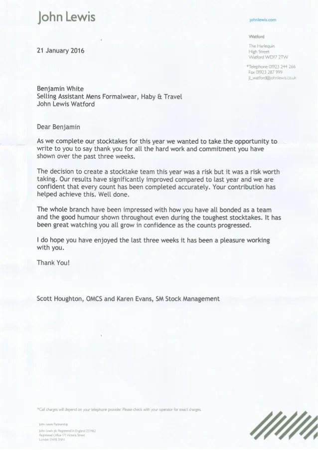 cover letter breakdown