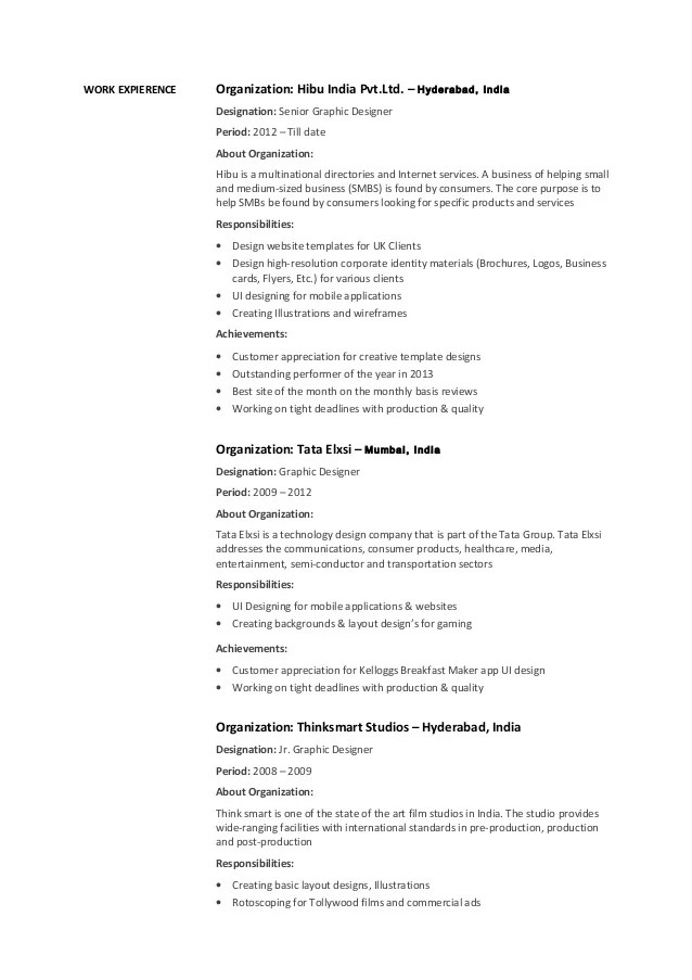 Perfect Graphic Designer Resume Objective Examples Vignette - Graphic Design Objective Resume