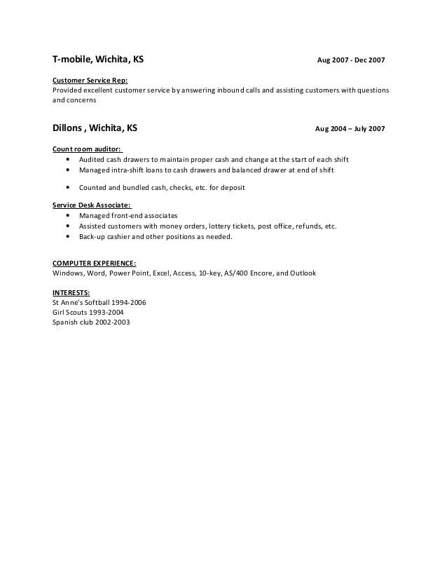 t mobile customer service representative job description - Pinar