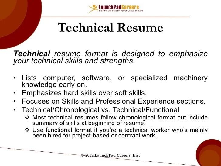 writing skills for resume