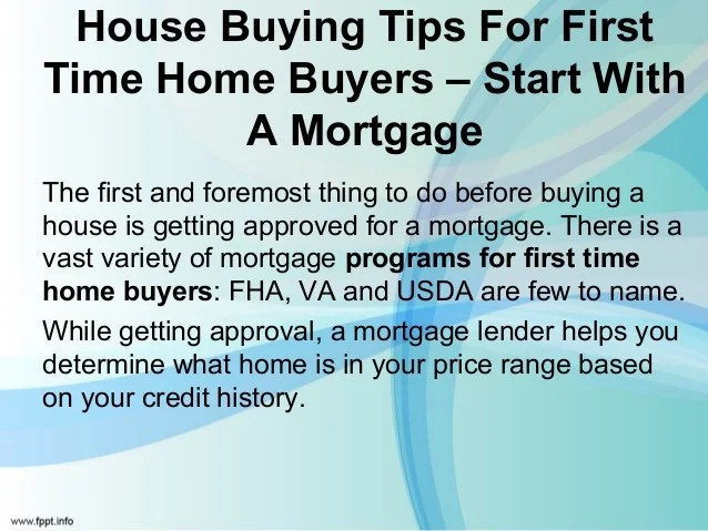 Top 5 First Time HomeBuyer Tips For First Time Home buyers