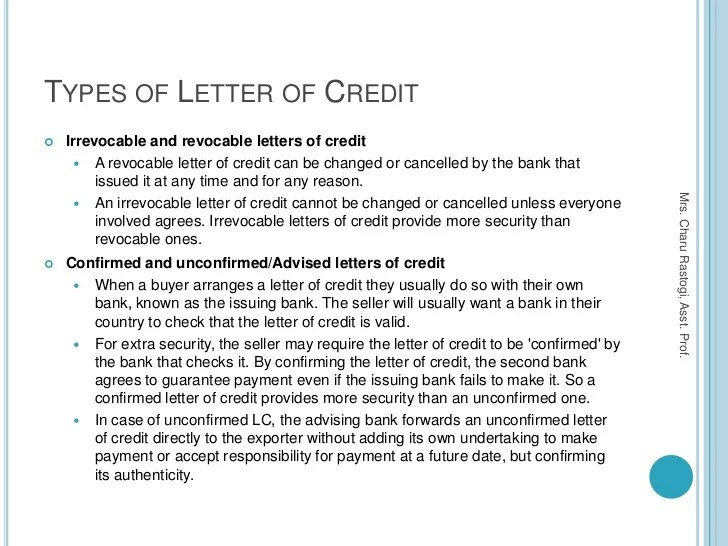 Letter Of Credit Lc Documentry Collection Export Import 5 Methods Of Payment In International Tradeexport And