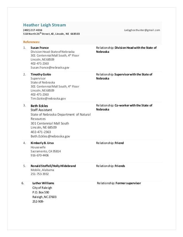 Functional Resume References | Sample Customer Service Resume