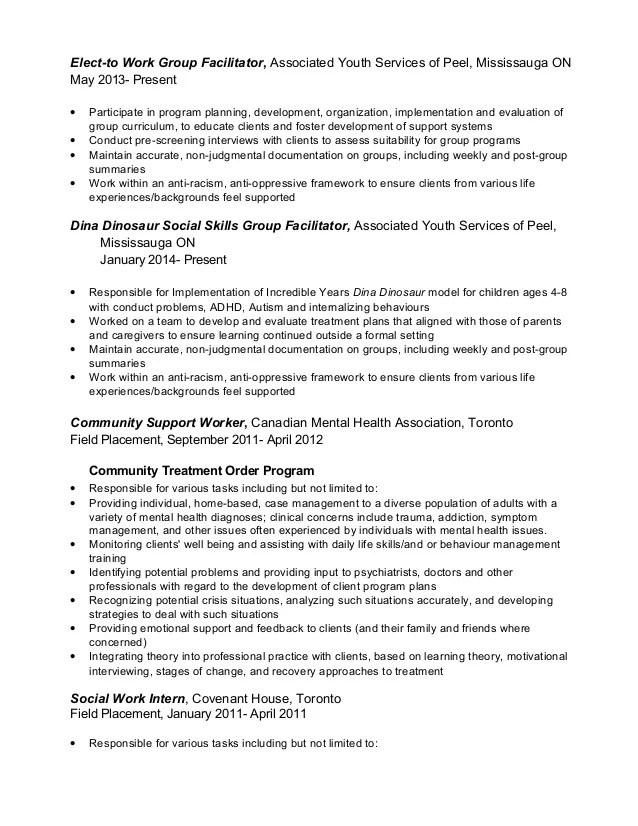 community support worker sample resume node2003-cvresume