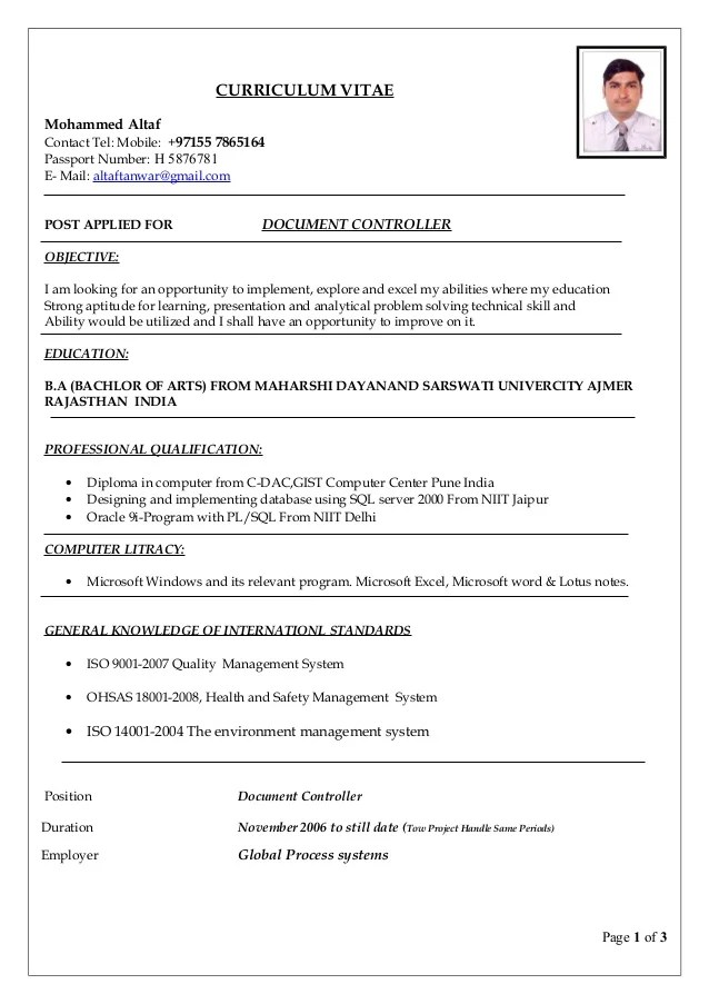 resume format in word document - Intoanysearch - resume word document