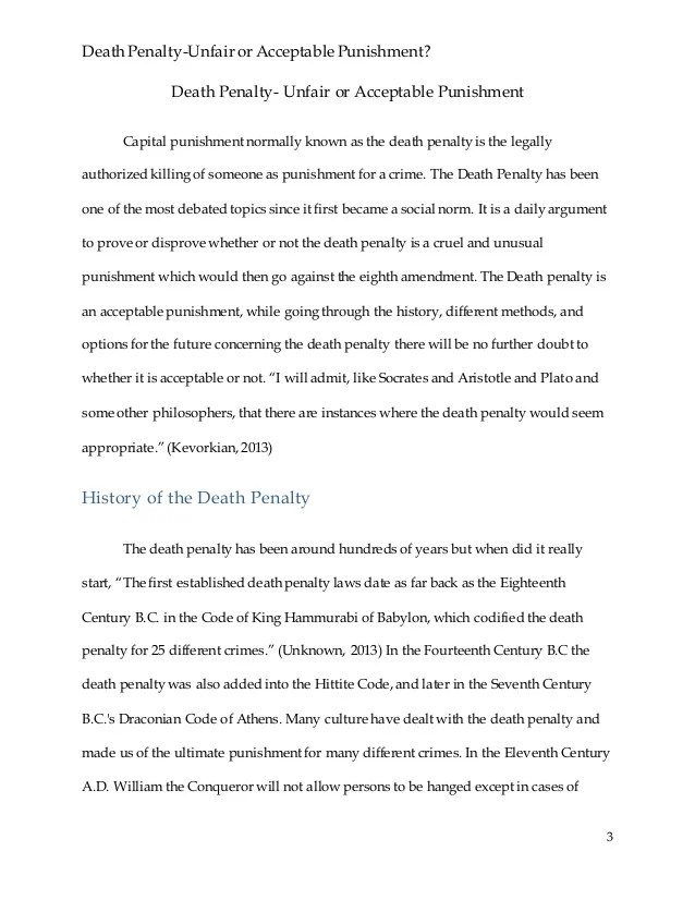 essays against capital punishment - Selol-ink