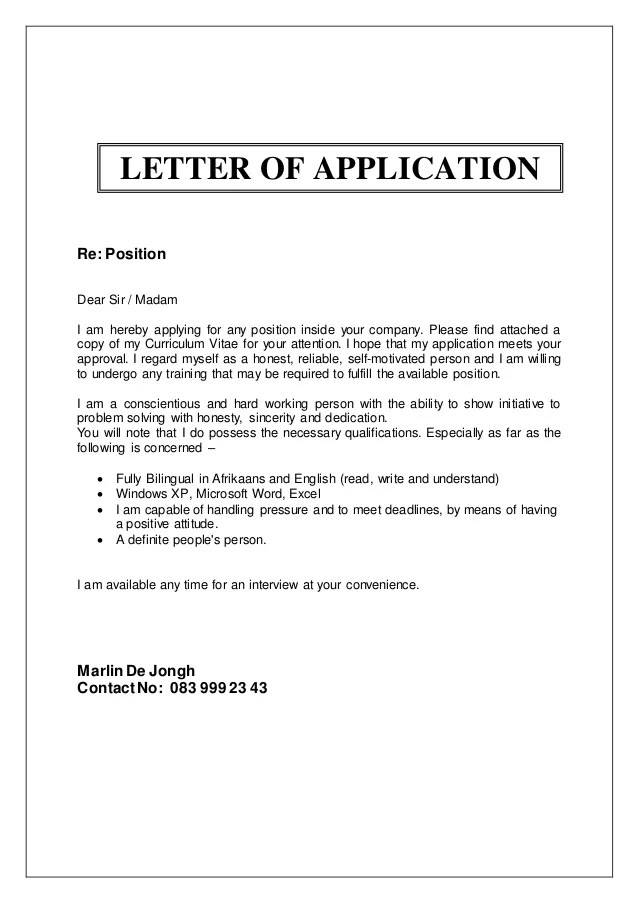 Resume Template 781 Free Samples Examples Format Marlin De Jongh Cv