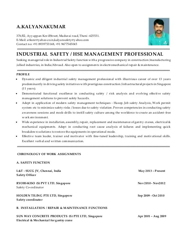 Awesome ... Write Custom Admission Essay On Founding Fathers Professional   Safety  Officer Resume ...  Safety Coordinator Resume