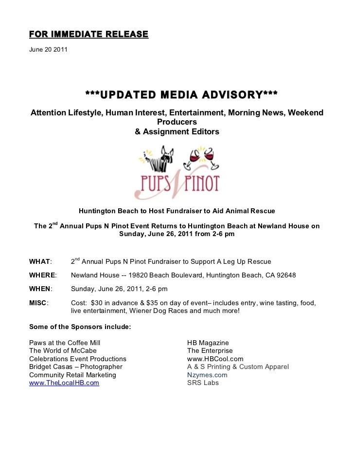 media alert template - Apmayssconstruction