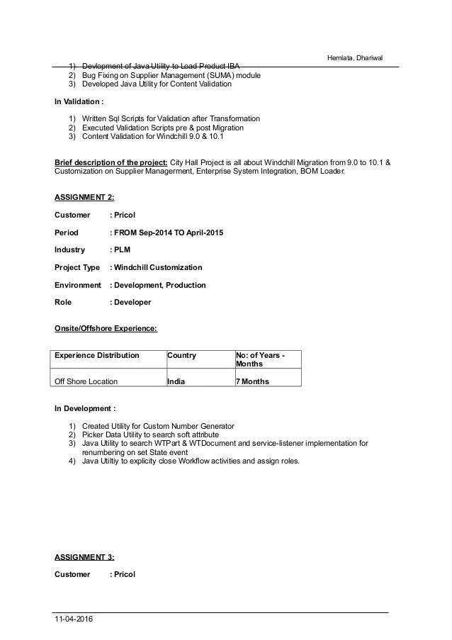 Cognos Fresher Resume Cognos Sample Resume Sample Resume For Cognos