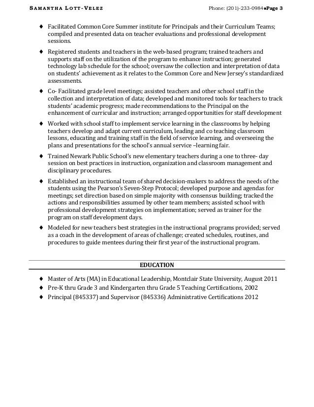 educational leadership resume examples - Vatozatozdevelopment - leadership resume examples