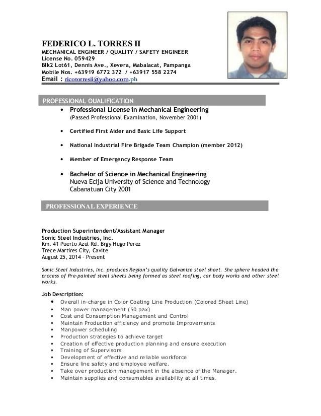 safety engineer resumes - Akbakatadhin