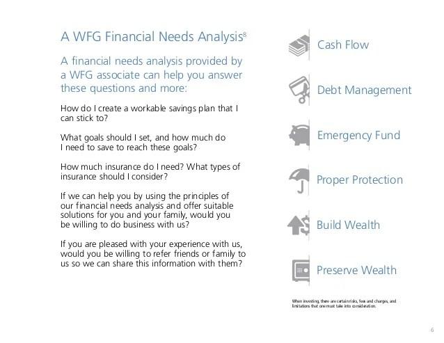 financial needs analysis - Apmayssconstruction