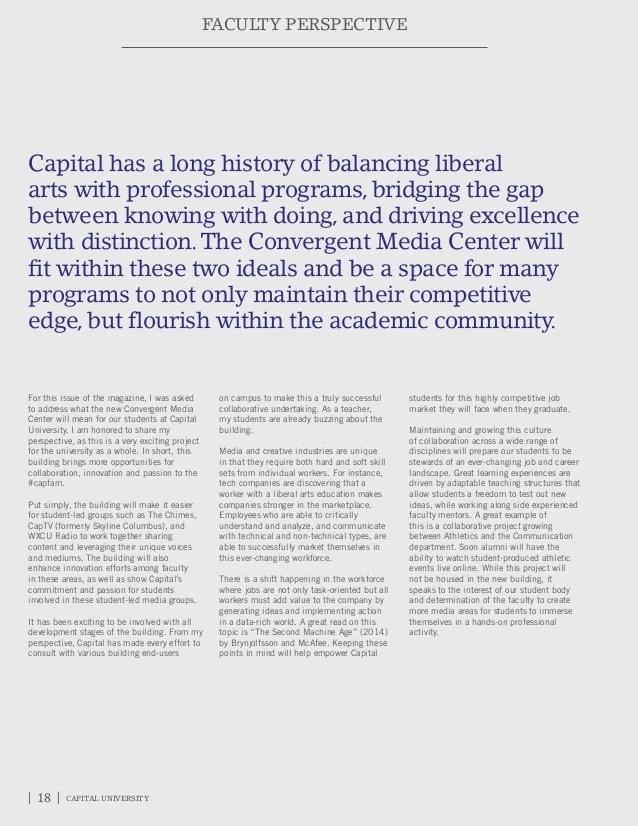 Capital Magazine - Fall 2015