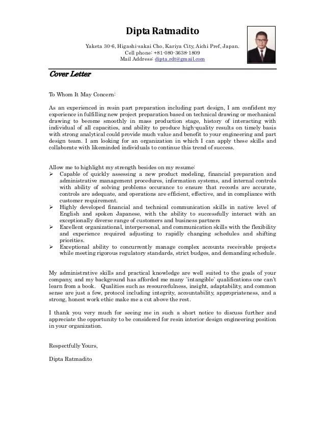 how to make a professional cover letter - Goalgoodwinmetals