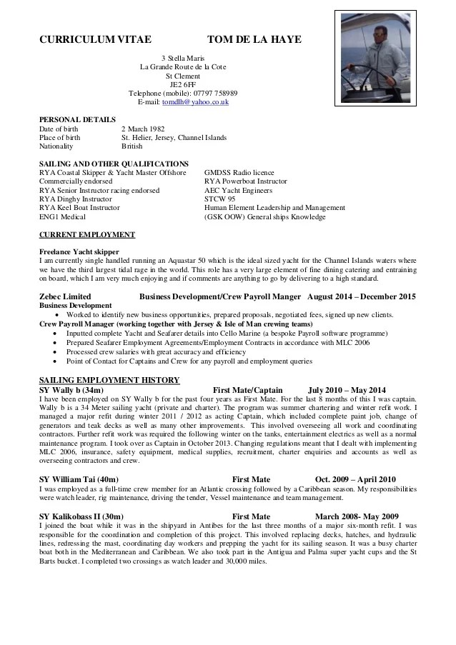 sample english cv - Intoanysearch - how to write an american resume