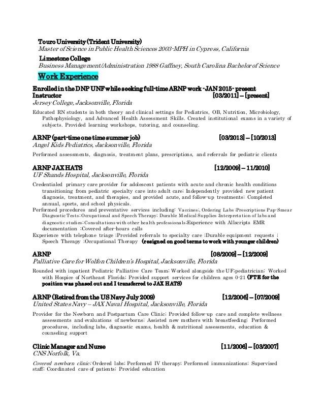 resume workshops attended dalarcon