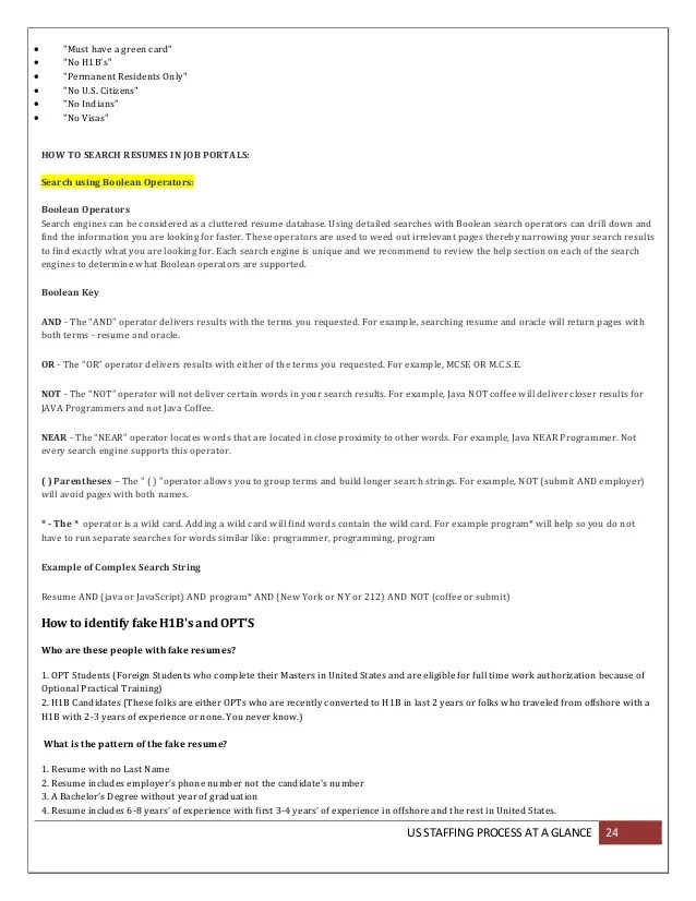 Job Description H1B Sample | Resume Guide Computer Science