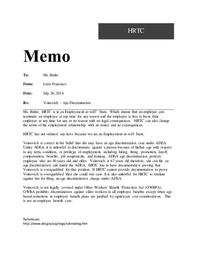 sample memos for workplace issues - Alannoscrapleftbehind
