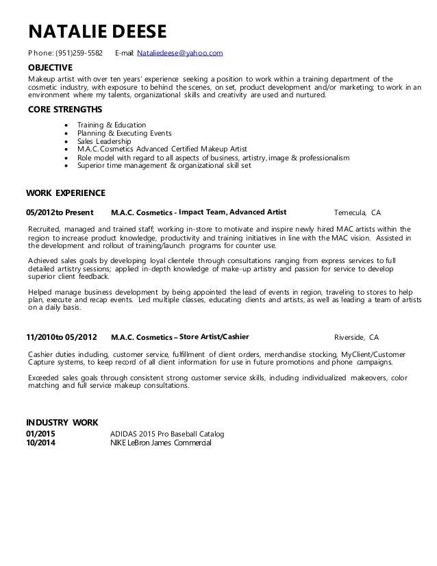 Convenience store cashier resume sample