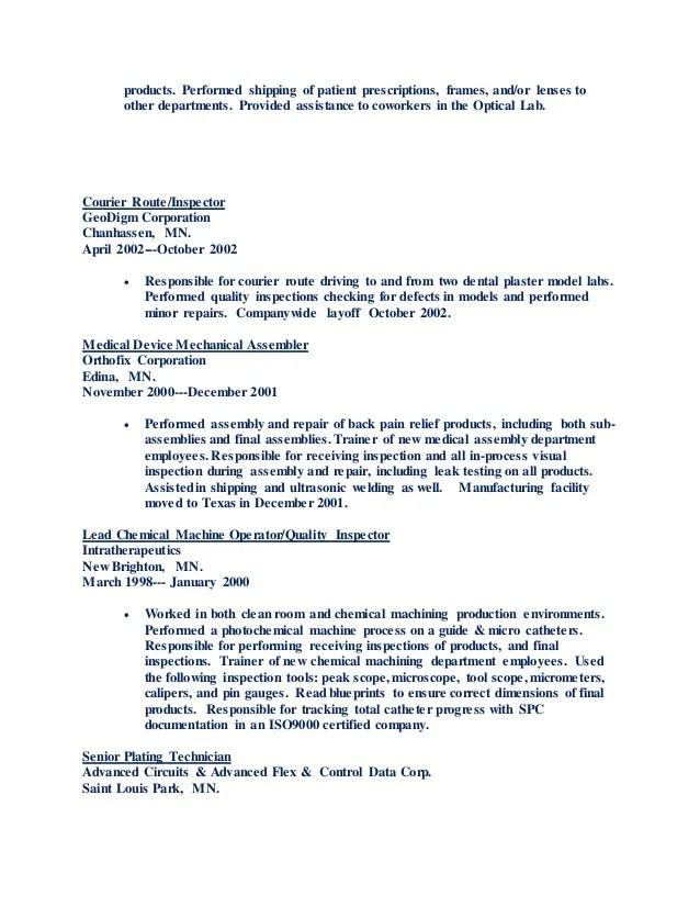 medical assembler resumes - Minimfagency