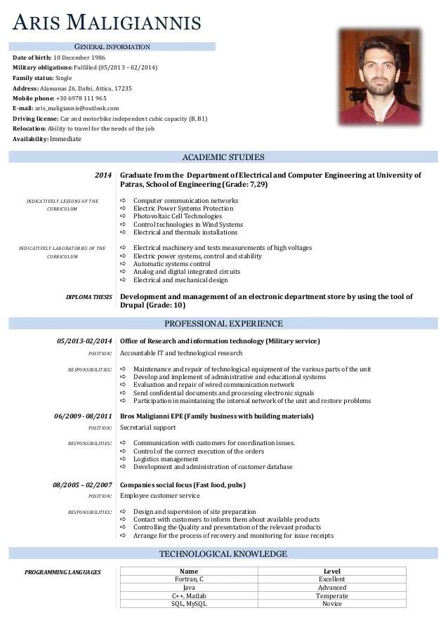 sample resume for military members returning to civilian life