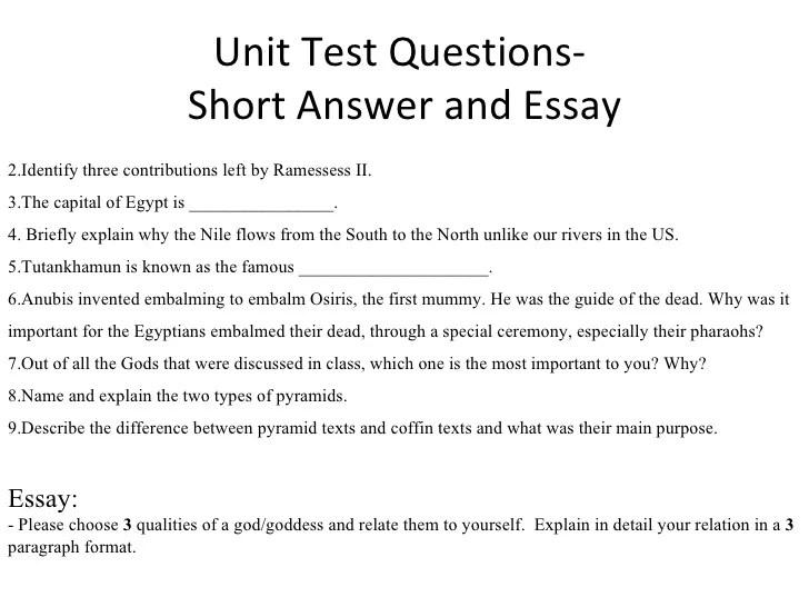 6th Grade Social Studies Egyptian Unit