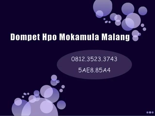 Tas Mokamula Semarang Supplier Mokamula Semarang Mokamula Malang
