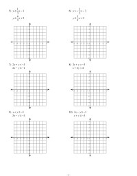 Solving Systems Of Inequalities By Graphing Worksheet ...