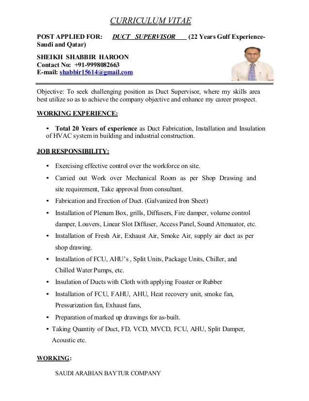 Hvac Resume Objective Hvac Resume Objective Hvac - hvac resume objective