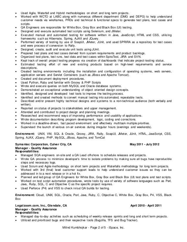 100 agile scrum project manager resume project manager