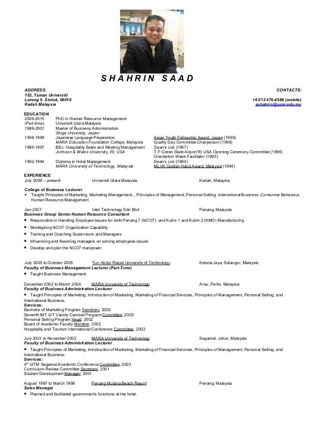 resume of lecturer - Sarppotanist