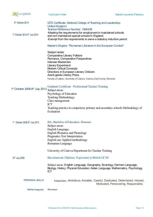 Example United Kingdom Curriculum Vitae Curriculum Vitae Kwame Anthony Appiah Gabriel Laurentiu Cv