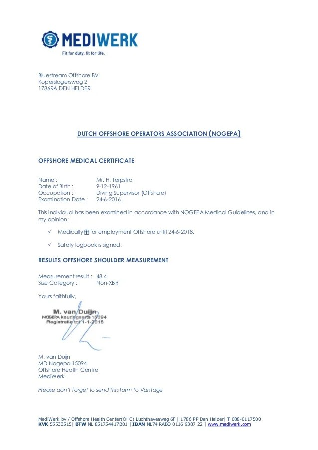 medical certificate philippines