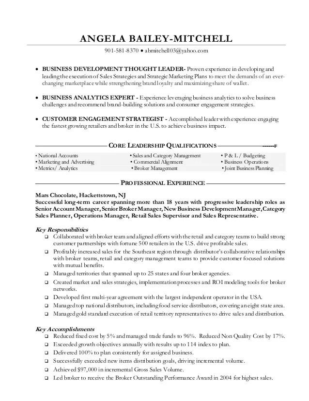 fmcg resume format - Apmayssconstruction