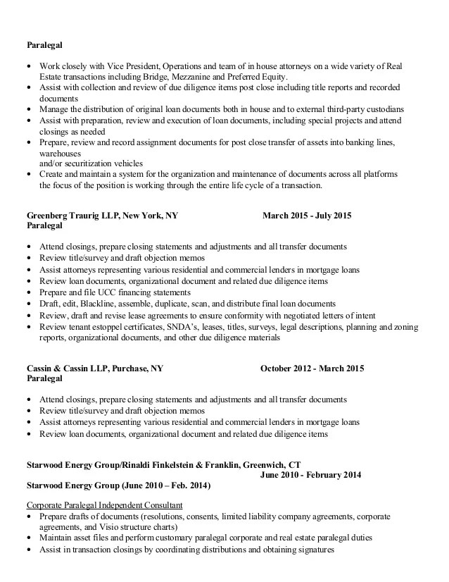 real estate paralegal resume - Alannoscrapleftbehind - paralegal resume
