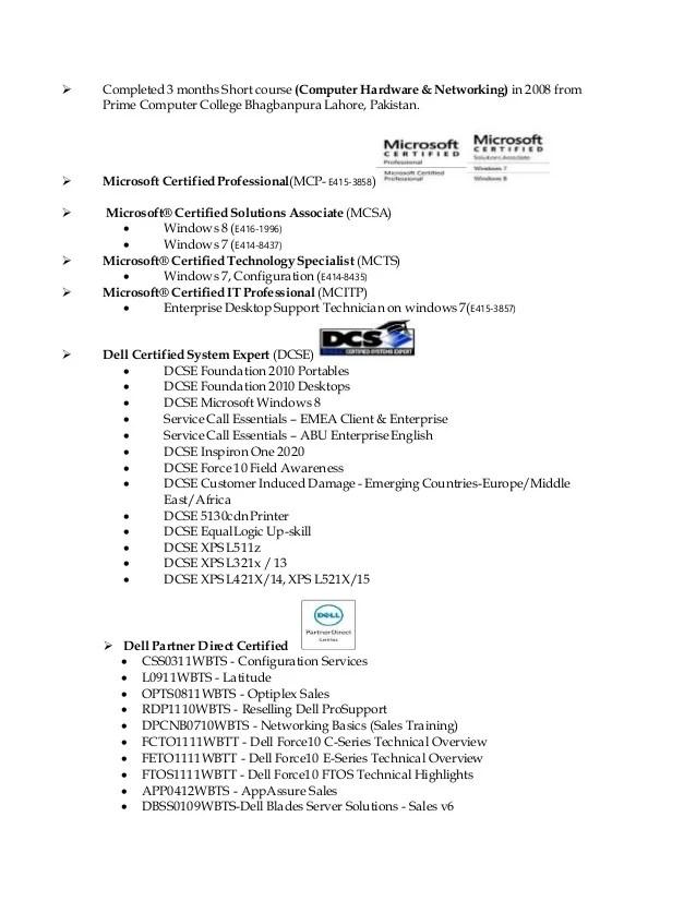 microsoft certified professional logo for resume - Onwebioinnovate - microsoft certified trainer sample resume