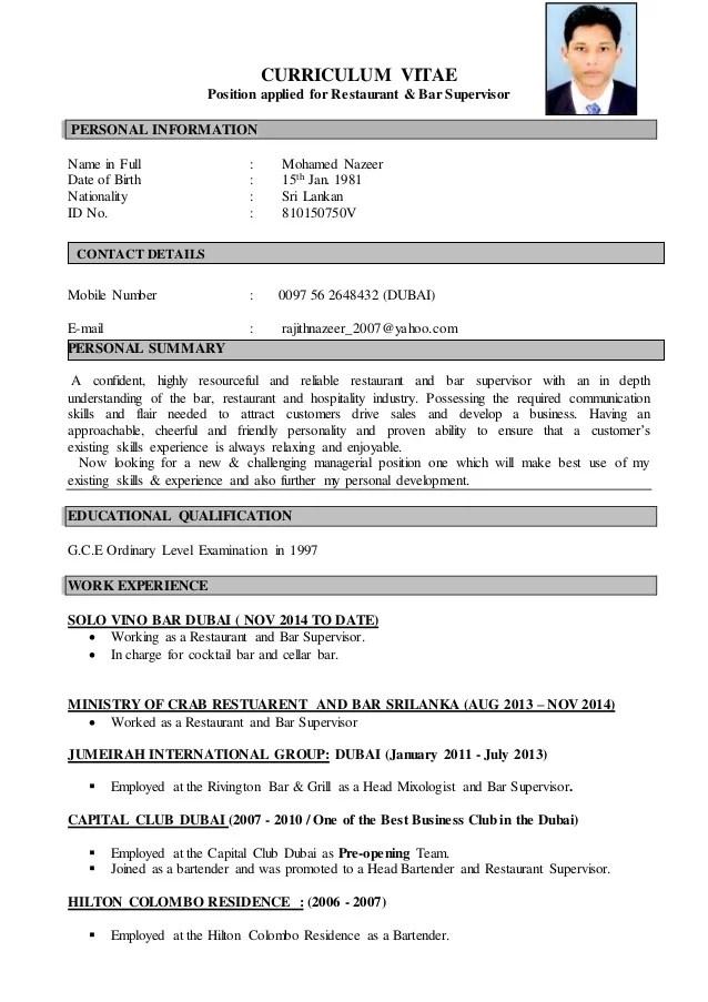 resume position applied for best sample resume format for freshers