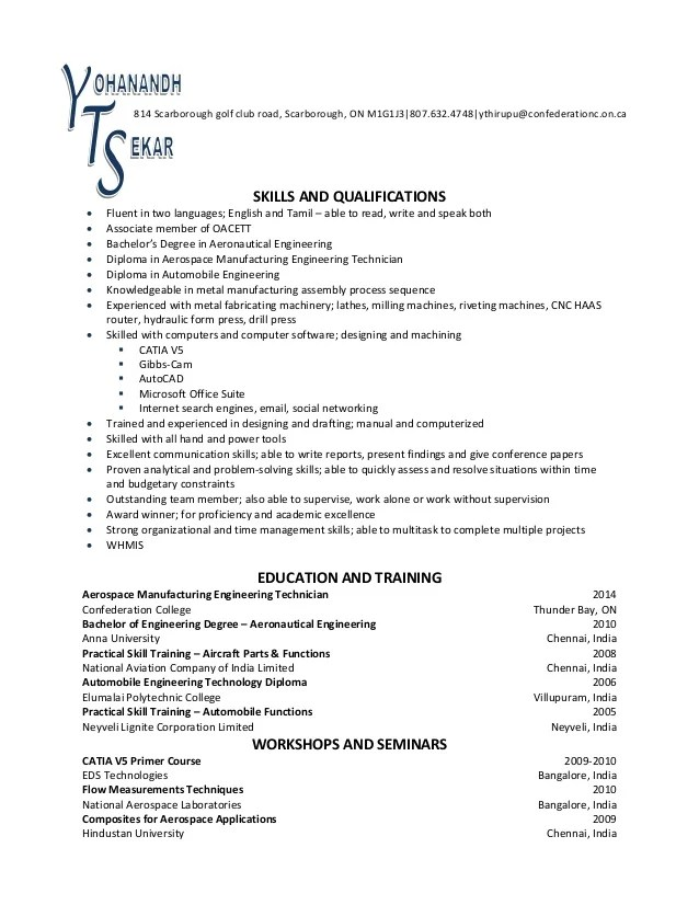 english good read write talk cv
