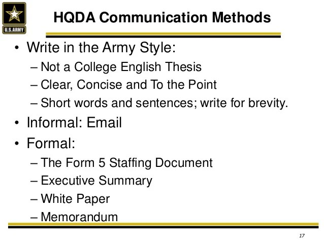 Hqda Introductory Brief To The Eitf