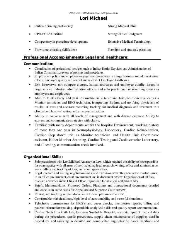 research quality assurance resume